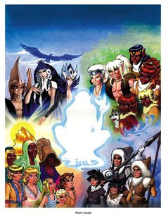 ElfQuest, my favorite comic novel when I was younger