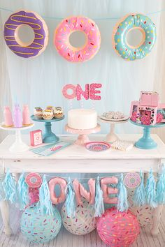 donut grow up evies birthday party inspiration.The top 20 Ideas About Birthday Decorations donut grow up evies birthday party inspiration.The top 20 Ideas About Birthday Decorations 1st Birthday Party For Girls, 1st Birthday Decorations, Donut Birthday Parties, Girl Birthday Themes, Donut Party, Birthday Ideas, 2nd Birthday, Birthday Photos, Princess Birthday