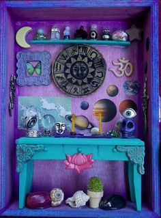 Altars:  Pagan #Shrine. Mini altar, love this :)