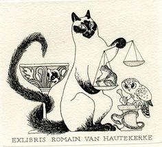 Ex libris by Olga Keleynikova