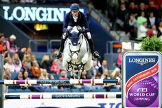 Daniel Deusser and Cornet D'amour in the 2016 Longines FEI World Cup Finals!