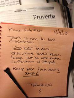 Prayer Note #30