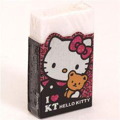 Hello Kitty with teddy bear glitter eraser 3