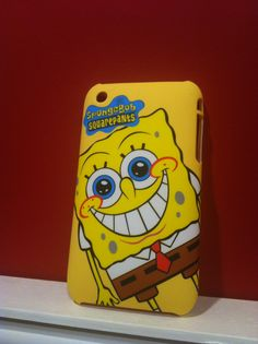 Capa Rígida do Bob Esponja para iPhone 3/3GS