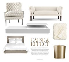 """Luxery living"" by saintlorance on Polyvore featuring interior, interiors, interior design, thuis, home decor, interior decorating, Modloft, Nordstrom, Armani Beauty en Envi:"
