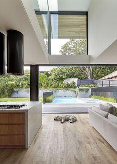 48 Inspiring Natural Home Light Architecture Design - Wohn- und Esszimmer - Architektur Modern Kitchen Design, Modern House Design, Home Design, Home Interior Design, Interior Decorating, Design Ideas, Wall Design, Australian Interior Design, Australian Architecture
