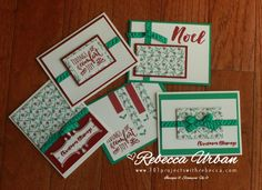 Stampin' Up! Presents and Pinecones OSW – 101 Projects with Rebecca
