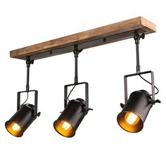 wall mount track lighting. LNC Wood Close To Ceiling Track Lighting Spotlights 3-Light Lights Wall Mount
