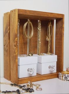 Cute and easy necklace hanger necklace hanger hanger and woods solutioingenieria Images