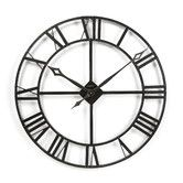 Found it at Wayfair - Lacy Quartz Wall Clock - another favorite - like @ www.homescapes-sd.com #staging #clock #homescapes