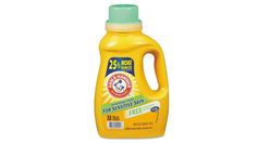 Arm & Hammer Free of Perfumes and Dyes   Fragrance-free, dye-free laundry detergents, also known as free and clear, are perfect for sensitive skin.