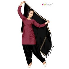 Raspberry Formal Cotton Salwar Kameez Material PS022  - Online Shopping for Salwar Suit by Platinum