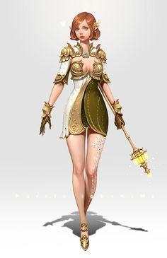 Unica KIMI : 꼬꼬마 캐릭터...@玉梨子采集到韩式设计(371图)_花瓣游戏