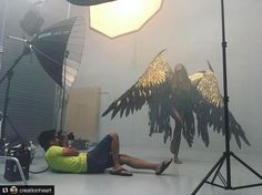 A Famous BTS Magazine Feature. Thank you for sharing this cool BTS with us @creationheart!! _____________________ Repost @creationheart: BTS of our hazy studio! Quite epic when your subject was a dark angel. 😈 . . . . . . #bts #studio #photoshoot #newzealand #onset #lighting #profoto #profotoprob4 #broncolor #broncolorpara #133 #makeup #model Added by us: #behindthescenes #setlife #famousbtsmagazine #famousbtsmag See this Instagram photo by @famousbtsmagazine • 4,047 likes