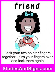 C's books are fun stories for kids that will easily teach American Sign Language, ASL. Each of the children's stories is filled with positive life lessons. You will be surprised how many signs your kids will learn! Give your child a head-start to lear Sign Language Basics, Simple Sign Language, Sign Language Chart, Sign Language Phrases, Sign Language Interpreter, Sign Language Alphabet, British Sign Language, Learn Sign Language, Fun Stories