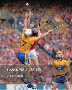 Cork v Clare - GAA Hurling All-Ireland Senior Championship Final - what an epic game! Irish Memes, Irish Step Dancing, Irish Eyes Are Smiling, Epic Games, My Favorite Image, Football Soccer, Finals, Coaching