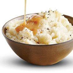Roasted Cauliflower Mashed Potatoes Recipe | MyRecipes.com