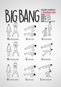 Big Bang Workout