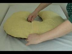 How To Sew.Make a Boppy Nursing Pillow Cover & Free nursing pillow pattern...includes pattern for slip cover with ... pillowsntoast.com