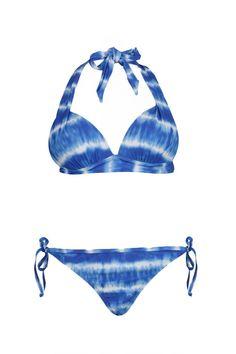Costa Rica Tie Dye Bahamas Plunge Bikini