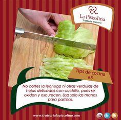 La Piccolina Trattoria: TIPS de cocina #5 .  La Trattoria La Piccolina