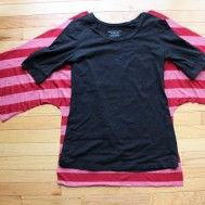 Como hacer una blusa con mangas murcielago 1.jpg