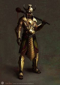age of conan concept art | Conqueror concept art from the video game Age of Conan: Unchained by ...
