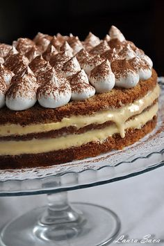 Tort Tiramisu Cannoli, Romanian Food, Romanian Recipes, Something Sweet, Food Inspiration, Cooking Recipes, Cooking Ideas, Food And Drink, Health Fitness