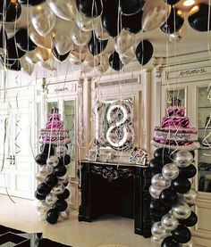 Preveenaj 18th Birthday Party Decor Decorations Adult Celebration