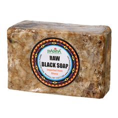 How to Safely Use African Black Soap: Madina African Black Soap.