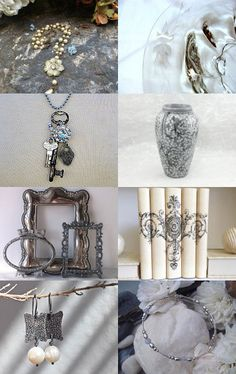 *** Silver Charms *** by Genevieve on Etsy--Pinned with TreasuryPin.com