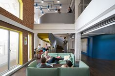 Maxus Office by BDG architecture + design | Office facilities