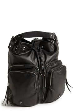 kensie Faux Leather Backpack available at #Nordstrom