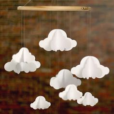 Cloud mobile  by ModernMisses on Etsy, $10.00
