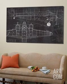 61 best art with airplanes images on pinterest aircraft airplane plane blueprint loft art by marco fabiano at art malvernweather Images