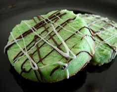 Mint Shortbread Cookies Recipe