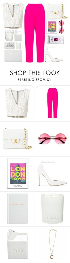 """""""Untitled #1214"""" by andreiasilva07 ❤ liked on Polyvore featuring Alice + Olivia, Delpozo, Chanel, ALDO, Archie Grand, Rituals and BIA Cordon Bleu"""