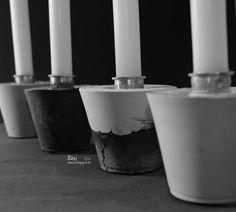 Türchen Nr. 12 – Gemeinsamer Auftritt von Beton & Gips – ein DIY für stimmige Adventsabende | Der Schlüssel zum Glück | Interior Design für Jedermann Diy Beton, Tableware, Blog, Design, Gypsum, Simple Diy, Advent Calenders, Woman, Dinnerware