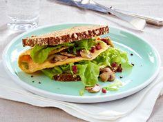 Bauern-Omelett-Sandwich