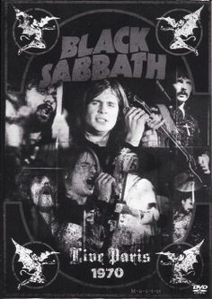 Black Sabbath live Paris 1970