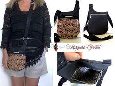 Marquise Grenat sur Instagram: Adoptez le style boho chic avec ce nouveau petit sac bandoulière en liège de luxe.…