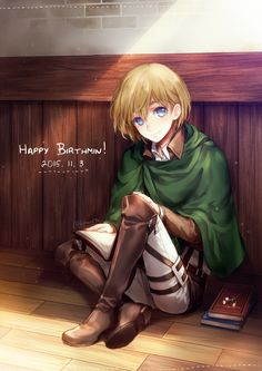 Armin Arlert Attack On Titan Mikasa, Aot Armin, Eren Y Levi, Ereri, Attack On Titan Hoodie, Attack On Titan Anime, Otaku, Humanoid Creatures, Anime Merchandise