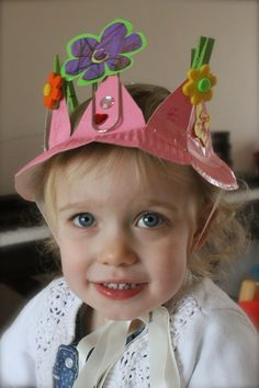 Clarina's Contemplations: How to Make an Easter Bonnet in Under 5 Minutes: Savouring the Season Linky Party 28 Easter Hat Parade, Activities For Kids, Crafts For Kids, Easter Crafts, Easter Ideas, Spring Hats, Craft Day, Kids Hats, Colors