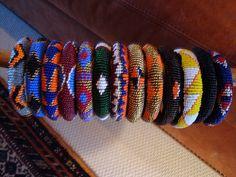 Masai beaded bracelets by Wildlife Friendly Enterprise Network, via Flickr