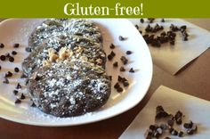 Gluten-free, soft batch, double chocolate brownie cookies! Amazingly soft and fudgy--no one will believe these are gluten-free!