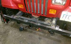 DIY Bumper/ winch plate project