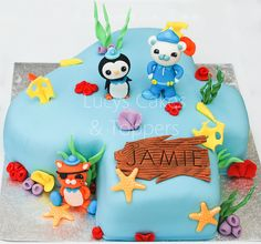 Octonauts birthday cake by Lucyscakesandtoppers.co.uk, via Flickr
