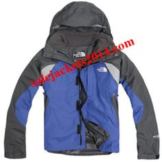 Blue North Face 3 in 1 Winter Jackets For Men
