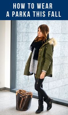 ROCK THE PARKA THIS FALL
