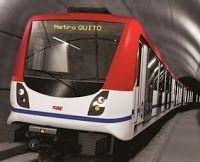 Pregopontocom Tudo: Equador recebe empréstimo adicional para construção da 1ª linha de metrô da capital Quito...